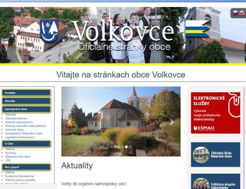 Volkovce Website